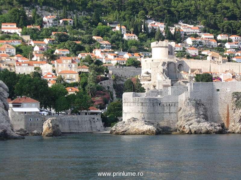 Dubrovnik de pe mare