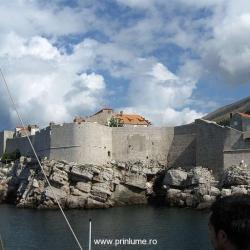 Cetatea vazuta de pe mare