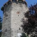 Cetatea Aiud - turnuri de aparare