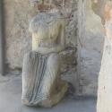 Cetatea Aiud - statuie