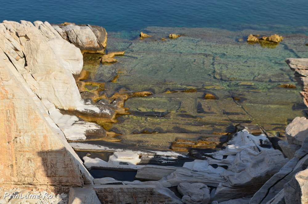 Alyki - portul vechi de marmură