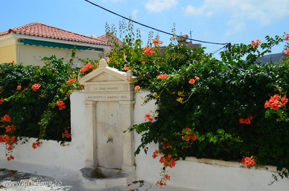 Andros - capitala insulei Andros, Cyclades, Grecia