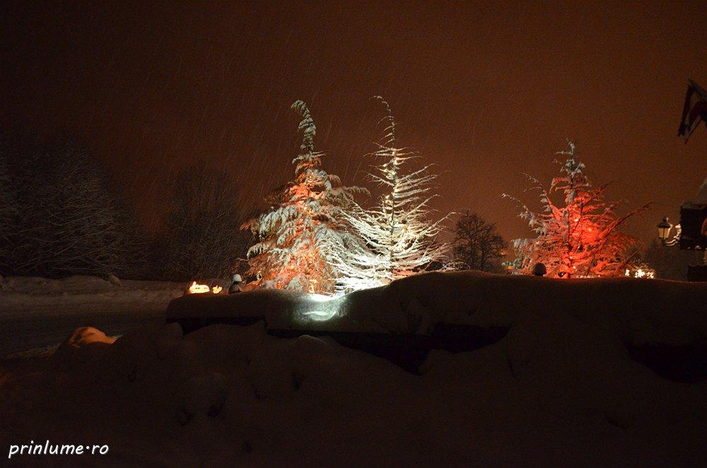 Predeal, 2013 - la schi si plimbare pe noapte