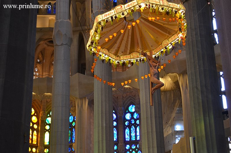 Sagrada Familia, Barcelona - interior