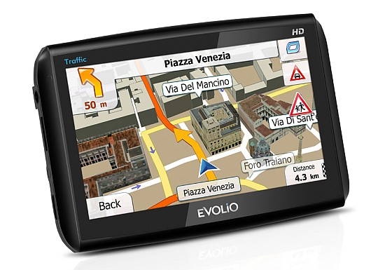 GPS Evolio HI Speed Traffic