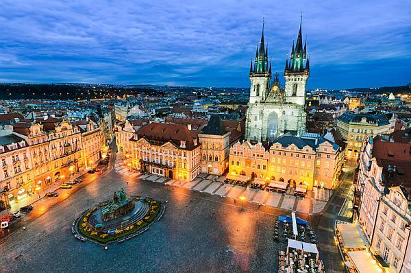 Praga centrul vechi - old town square